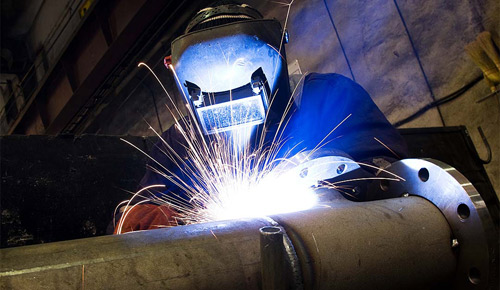Heavy Equipment Welding